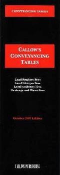 Conveyancing Tables