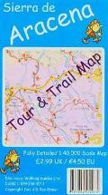 Sierra De Aracena Tour and Trail Map