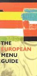 European Menu Guide