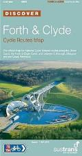 Forth and Clyde Cycle Routes Map: the Official Map for the National Cycle Network Routes Along the Union Canal, the Forth Canal, and Between Edinburgh, Glasgow and the Cowal Peninsula