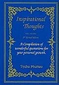 Inspirational Thoughts V. 1