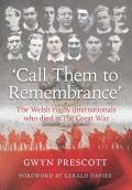 'Call Them to Remembrance': The Welsh Rugby Internationals Who Died in the Great War