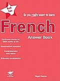 So You Really Want to Learn Frenchanswer Book Book 2