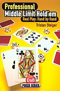 Professional Middle Limit Hold'em: Real Play: Hand by Hand