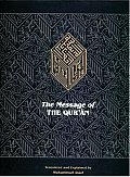 Message Of The Quran The Full Account