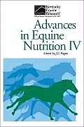 Advances in Equine Nutrition IV
