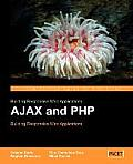 Ajax and PHP: Building Responsive Web Applications Cover