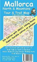 Mallorca North and Mountains Tour and Trail Super-durable Map