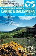 Irish Discovery Series 09. Larne and Ballymena 1 : 50 000