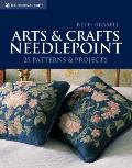 Arts & Crafts Needlepoint: 25 Patterns & Projects