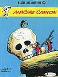 Lucky Luke Adventures #17: Apache Canyon Cover
