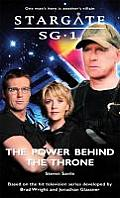 Stargate Sg-1 #15: Stargate Sg-1: The Power Behind the Throne: Sg1-15 Cover