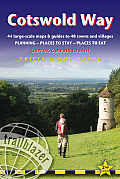Cotswold Way, 2nd: British Walking Guide with 44 Large-Scale Walking Maps, Places to Stay, Places to Eat (British Walking Guide Cotswold Way Chipping Campden to Bath)