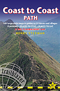 Coast to Coast Path: 109 Large-Scale Maps & Guides to 33 Towns and Villages: Planning - Places to Stay - Places to Eat: St Bees to Robin Ho