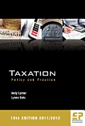 Taxation: Policy and Practice 18th Edition 2011/12