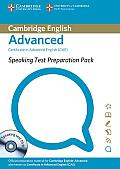 Speaking Test Preparation Pack for Cae Paperback with DVD [With DVD]