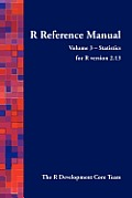 R Reference Manual - Volume 3 - Statistics - For R Version 2.13