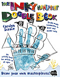 Inky Handprint Doodle Book Ready Made Handprints to Draw & Doodle with