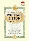 Historical Map of Windsor and Eton 1860 (Old House)