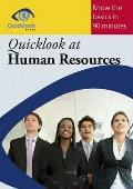 Quicklook At Human Resources