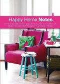 Happy Home Notes: Pink