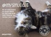 My Smug Cat Notecards: 10 Cards and Envelopes