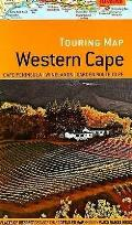 Touring Map of Western Cape: Cape Peninsula, Winelands, Garden Route To Pe