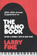 2003 2004 Annual Supplement To The Piano