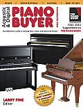 Acoustic & Digital Piano Buyer, Fall 2014