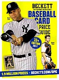 Beckett Baseball Card Price Guide No 33 Cover