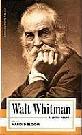 American Poets Project #4: Walt Whitman Selected Poems Cover