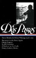 Library of America #143: Dos Passos Travel Books and Other Writings: 1916-1941 Cover