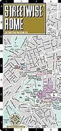 Streetwise Rome Map - Laminated City Street Map of Rome, Italy: Folding Pocket Size Travel Map (Streetwise)