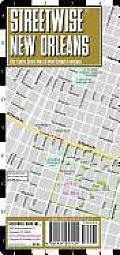 Streetwise New Orleans Map - Laminated City Street Map of New Orleans, Louisiana: Folding Pocket Size Travel Map (Streetwise)
