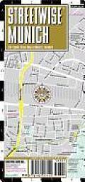 Streetwise Munich Map Laminated City Street Map of Munich Germany Folding Pocket Size Travel Map