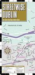 Streetwise Dublin City Center Street Map