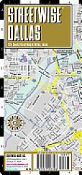 Streetwise Dallas Map - Laminated City Center Street Map of Dallas, Texas: Folding Pocket Size Travel Map