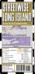Streetwise Long Island Map - Laminated Regional Road Map of Long Island, New York: Folding Pocket Size Travel Map