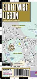 Streetwise Lisbon Map - Laminated City Center Street Map of Lisbon, Portugal: Folding Pocket Size Travel Map