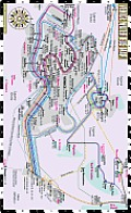 Streetwise Venice Water Bus Map - Laminated Water Bus Map of Venice Italy - Vaporetto: Folding Pocket Size Travel Map (Streetwise)