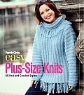 Family Circle Easy Plus Size Knits 50 Knit & Crochet Styles