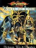 Dragonlance War of the Lance (Dragonlance Sourcebooks) Cover