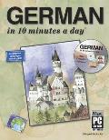 "German ""In 10 Minutes a Dayr [With CDROM] (10 Minutes a Day)"