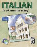 Italian in 10 Minutes a Day with CDROM (10 Minutes a Day)