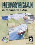 Norwegian in 10 Minutes a Day with CDROM (10 Minutes a Dayr) Cover