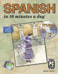 Spanish in 10 Minutes a Day - With CD (07 Edition)