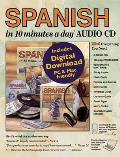 Spanish in 10 Minutes a Day(R) Audio CD (10 Minutes a Day)
