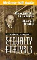Security Analysis Cover