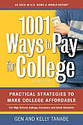 1001 Ways To Pay for College 2ND Edition Cover
