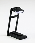 3-LED Compact Book Light: Black